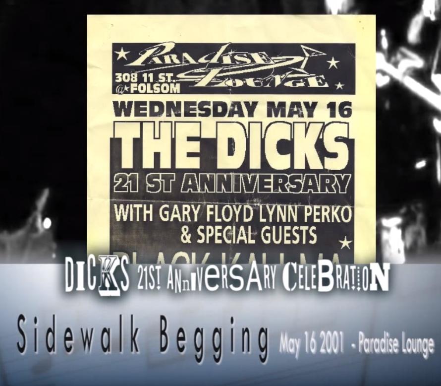 The Dicks - Sidewalk Begging