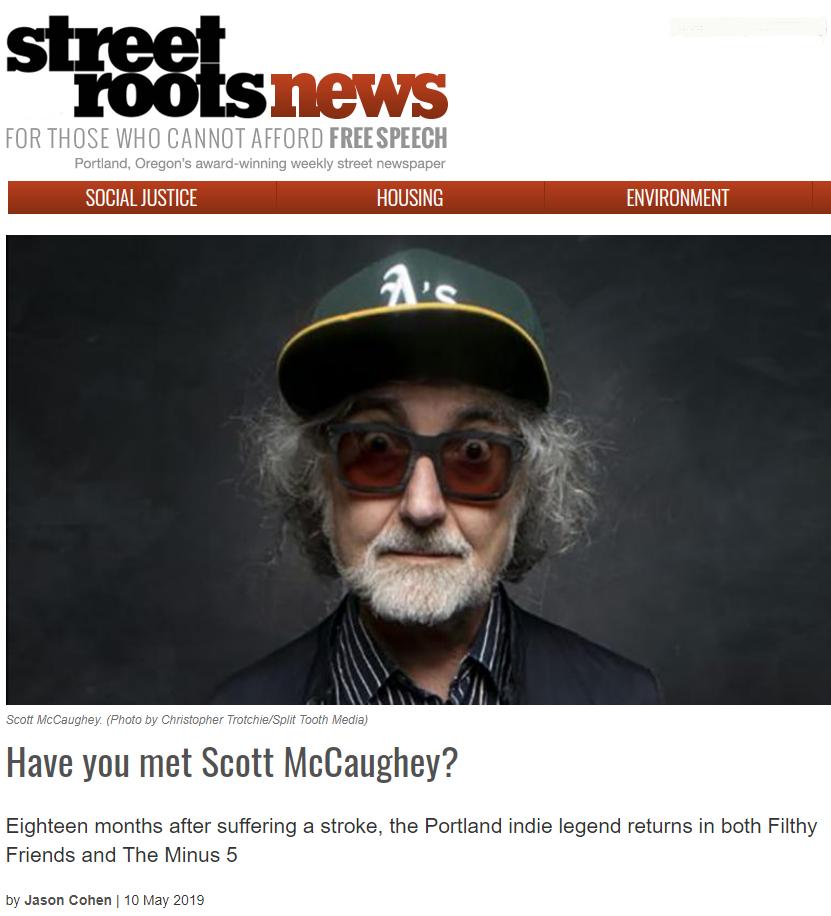 Scott McCaughey profiled in Street Roots