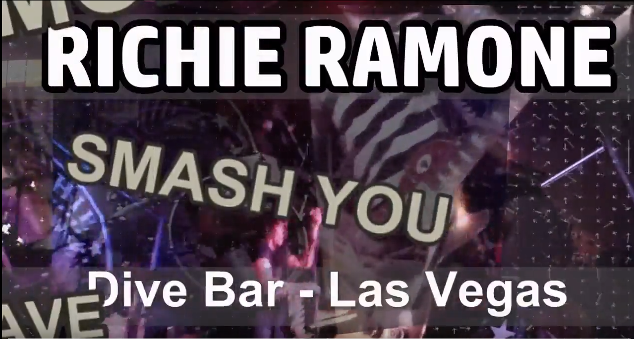 Richie Ramone Smash You Video Still